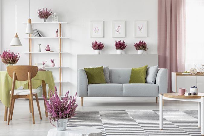Shop boliginteriør i moderne møbelshop