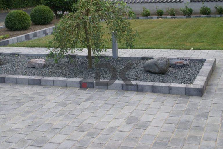 Brug knust granit på en kreativ måde derhjemme